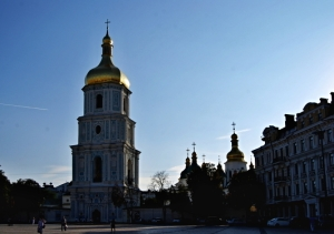 St. Sophia's - late afternoon in the Square