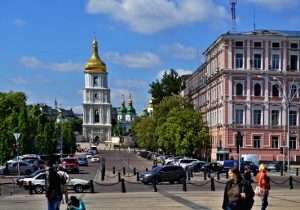 St. Sophia's Cathedral - Street view