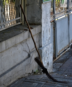 Sidewalk Sweeping