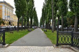 Shevchenko Blvd Pedestrian Path