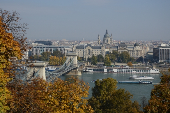 Pest from Buda castle