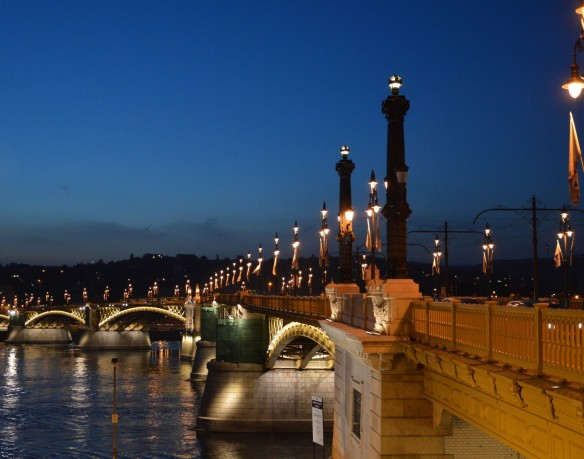 Budapest - Bridge at Twilight