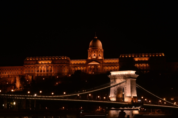 Buda Castle and Chain Bridge ...