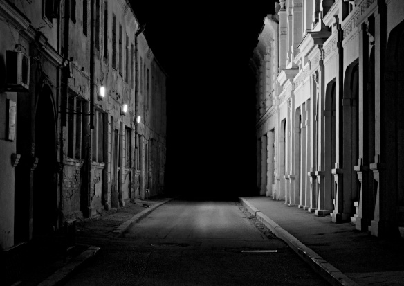 Nighttime Alley