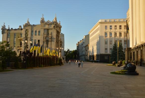 President Ukraine Square