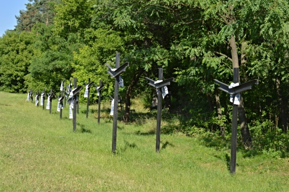 Iron Crosses by the Highway