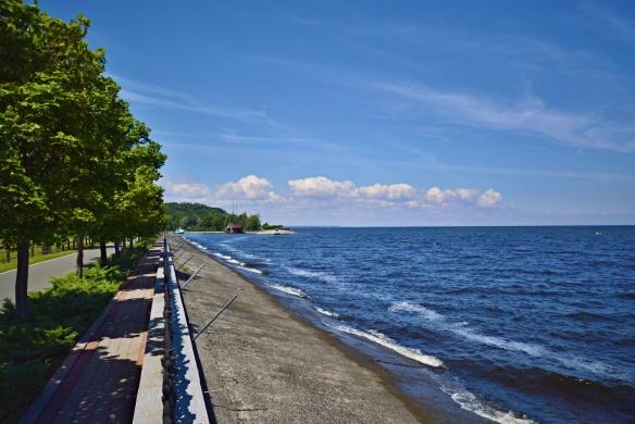 Shoreline of the Kiev Sea