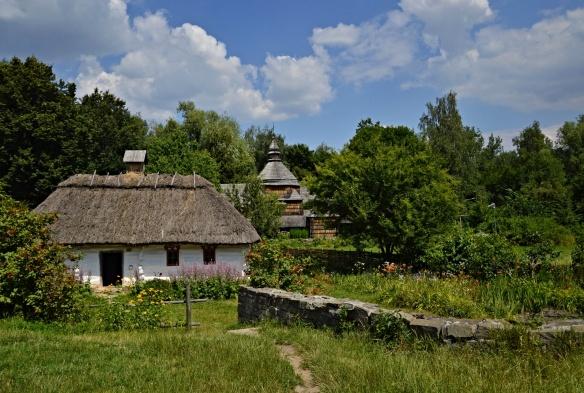 Folk Home w Church