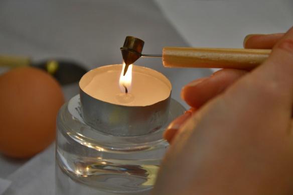 Heating the Wax