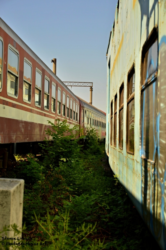 Train Graveyard in Ploiesti