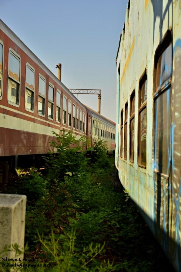 Train Graveyard in Ploiesti