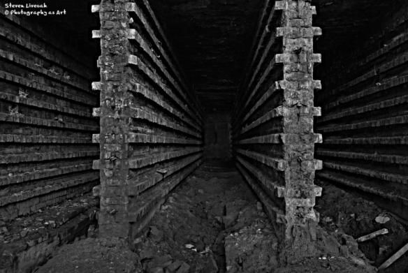 Brick Tunnel 1 BW