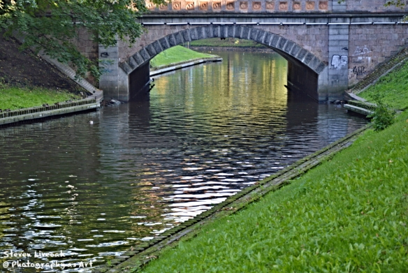 Stone Pedestrian Bridge - Riga