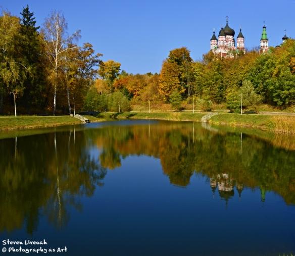 Monastery and Lake 2