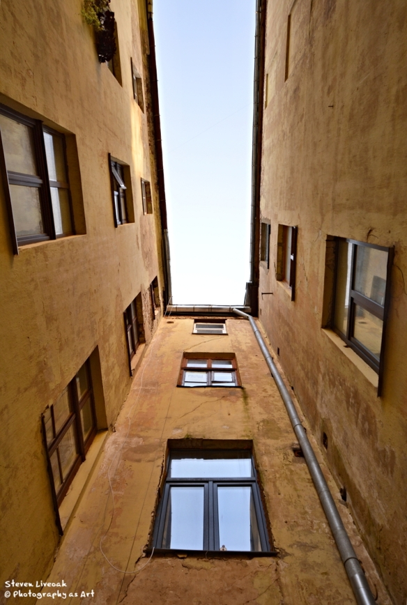 Narrow Courtyard