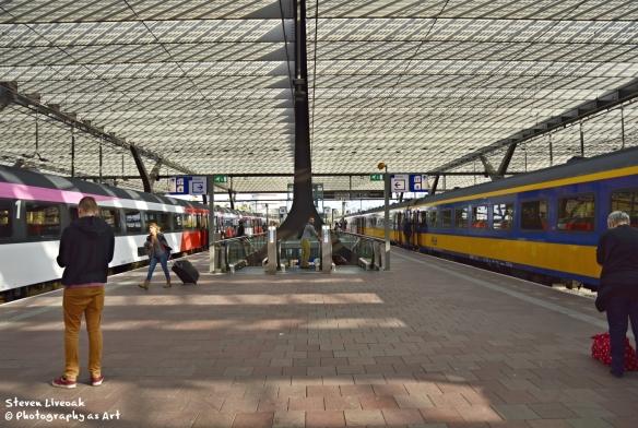 Rotterdam Train Platform