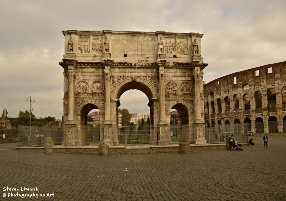 Arch and Collesium
