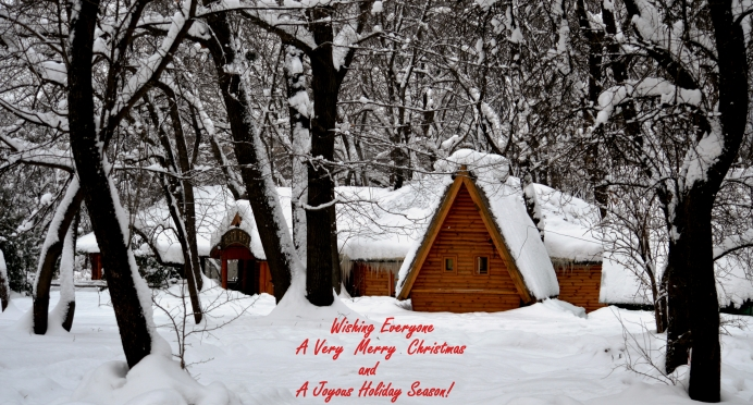 Cabin - Seasons Greetings