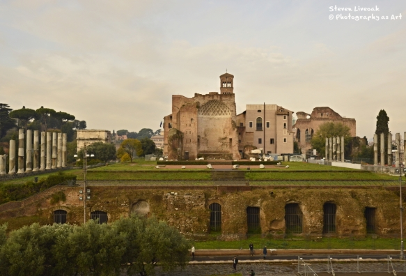 Site of Temple of Venus and Roma