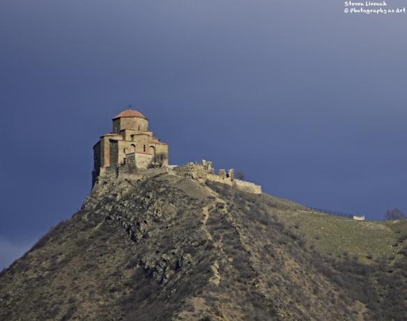 Dschwari Monastery Mountain