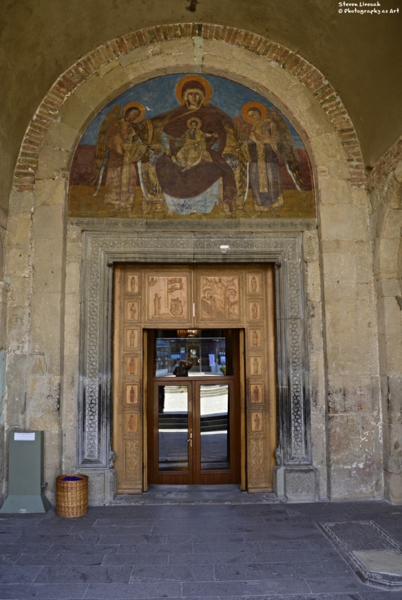Svetitskhoveli Cathedral Entrance
