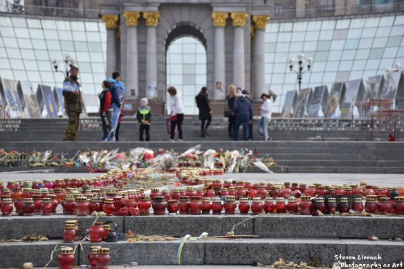Memorial Candles-Maidan 3